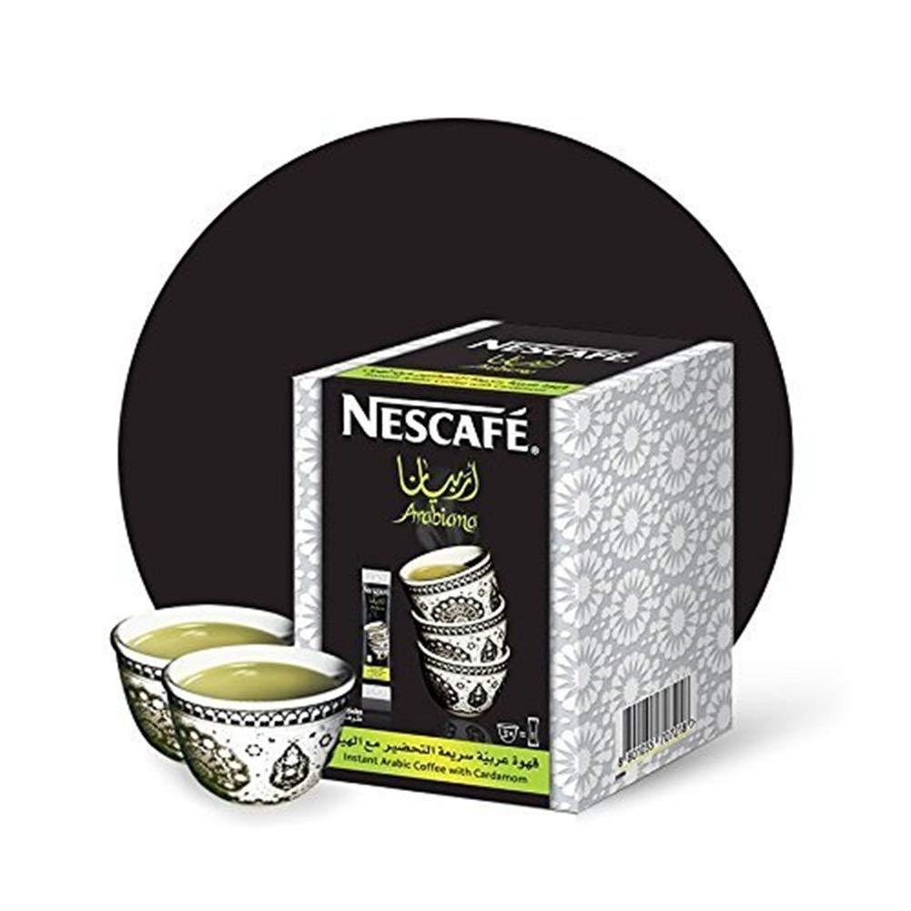 Instant Nescafe Arabiana Arabic Save money Max 58% OFF Coffee Flavor Mix Cardamom With