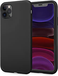 AOWIN Silicone Case for iPhone 11 Pro Case 5.8 Inches Ultra Slim Full-Body Protection Shockproof Case Cover for Apple 11 Pro (Black, iPhone 11 pro)