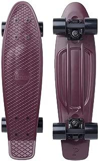 "Penny Skateboard(ペニースケートボード) PENNY CLASSICS COMPLETE 22"" 0PCL4 DUSTY PURPLE 全長22インチ(約56cm)、幅約15cm"