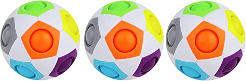 new arrival RiamxwR Bubble Fidget Toy Rainbow Puzzle outlet online sale Ball Color-Matching Puzzle Game sale Fidget Toy Stress Reliever Brain Teaser Stress Reliever Squeeze Sensory Tools to Relieve Emotional Gift for Adults Kids outlet sale
