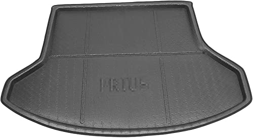 high quality Mallofusa Cargo Liner Rear Cargo Tray Trunk Floor Mat Compatible for Toyota Prius 2008 2009 2010 2011 2012 2013 2021 2014 2015 high quality Black sale