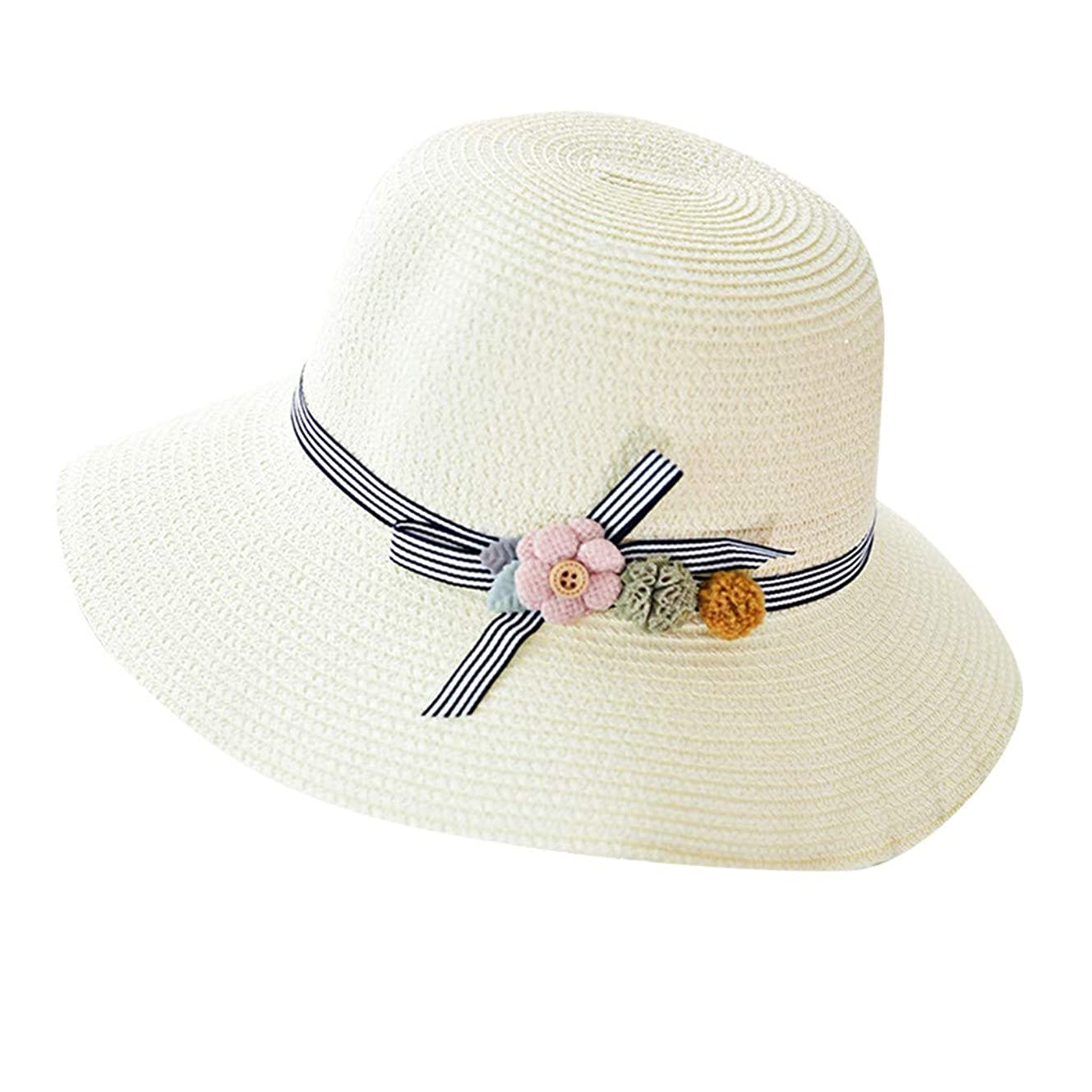 乱闘加害者気をつけて漁師帽 夏 帽子 レディース UVカット 帽子 ハット レディース 紫外線対策 日焼け防止 つば広 日焼け 旅行用 日よけ 夏季 折りたたみ 森ガール ビーチ 海辺 帽子 ハット レディース 花 ROSE ROMAN