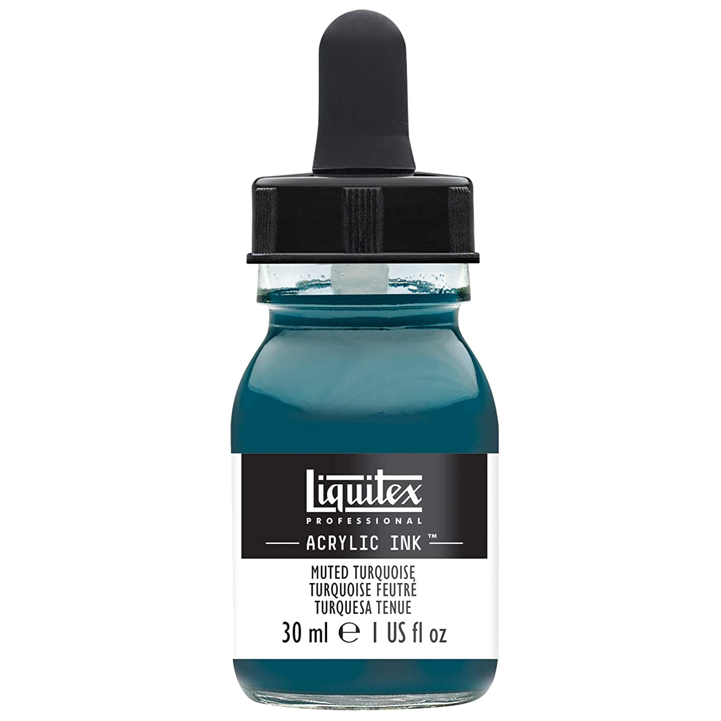 Liquitex Special Release Collection Professional Acrylic Ink! 1-oz Jar - Muted Turquoise, 1 oz, cfkzkygdgju705