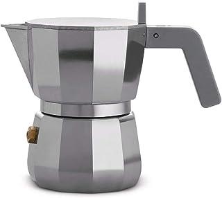 Alessi Moka Espresso coffee maker, 1 cup, grey