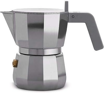 Alessi Moka Cafetera espresso, 1 taza, gris