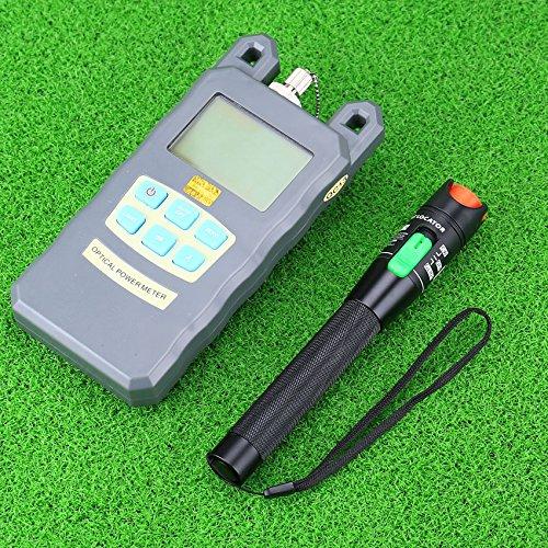 Genneric Optical Fiber Power Meter -70dBm~+10dBm Fiber Optic Power and Visual Fault Locator Fiber Optic Cable Test