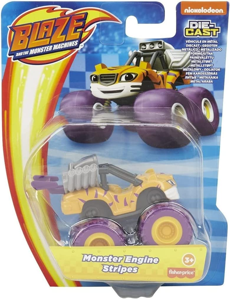 Blaze and service Cheap super special price The Monster diecast Machines Vehicle Stripes