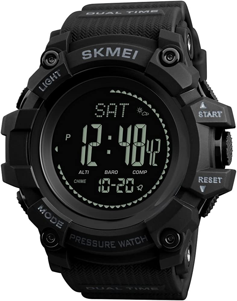 Men's Military Sports Digital Limited time for free shipping Watch Screen It is very popular LED Compass Survival