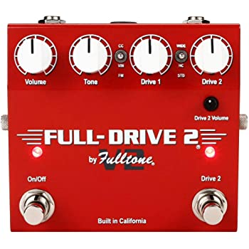 Fulltone Full-Drive 2 V2 Overdrive Pedal with Boost
