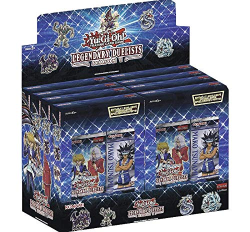 Konami - Legendary Duelists: Season 1 - Display (8 Packs) - Yu-Gi-Oh! - Deutsch - mit GECO® Spielmatte