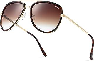 Aviator Sunglasses for Women and Men Aviators Retro...