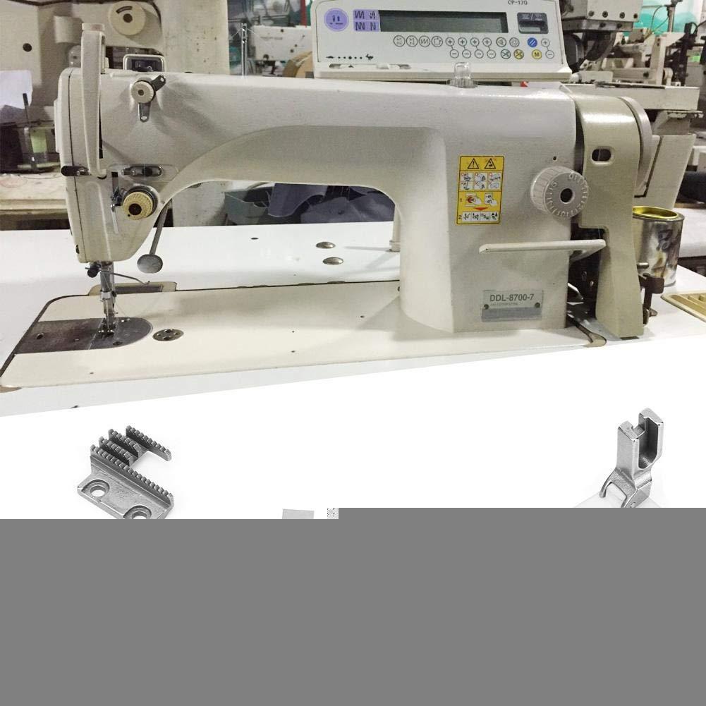 Máquina de coser Cuchilla de corte Punto de anclaje Corte de ...