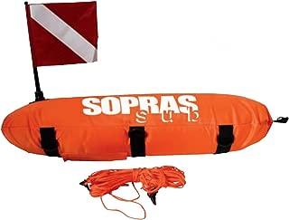 SOPRAS SUB TORPEDO FLOAT Freediving Spearfishing Buoy Scuba Diving Surface Marker