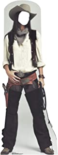 Advanced Graphics Wild West Cowgirl Stand-in Life Size Cardboard Cutout Standup