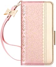 WWW Samsung Galaxy S20 Plus Case,Galaxy S20 Plus Wallet Case, [Luxurious Romantic Carved Flower] Leather Wallet Case [Insi...