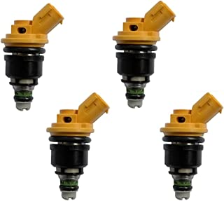 Set of 4 OEM Jecs 550-555cc fuel injectors for Nissan Sentra, NX, 200SX 1.6L(pack of 4)