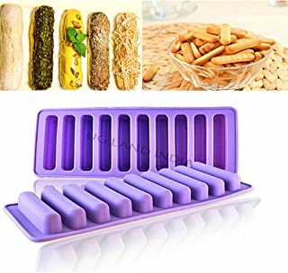 UG LAND INDIA 10 Silicone Ice Cube Tray Mold Freeze Ice Mould for Water Bottle Pudding Jelly Chocolate Cookies Mold