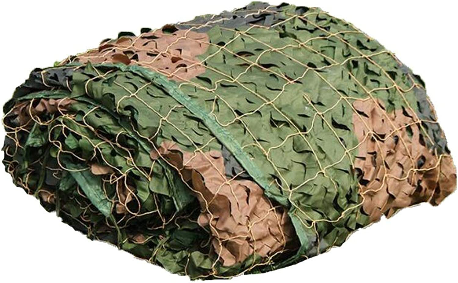 XEWNEG Jungle Camouflage Net, Lightweight Waterproof Oxford Cloth  Suitable for Outdoor Use Military Camping Hunting Shooting Sunscreen Net(6×8cm)