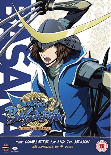Sengoku Basara: The Complete Season 1 and 2 [DVD] [Edizione: Regno Unito]