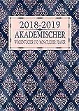 2018-2019 Akademischer Wöchentlicher und Monatlicher Planer: Roségold Floral MusterTerminkalender Organizer, Studienplaner Und Agenda Zum Universität, ... College (2018 2019 Kalendar Rosegold, Band 5)