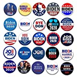 25pcs 2020 Joe Bidenキャンペーンボタン、ブリキ選挙大統領バッジ、帽子スカーフアクセサリー用米国選挙ブローチ-5.8cm (25種類のスタイル)