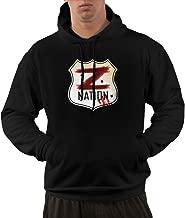 CustomART Unisex Sweatshirts Hooded - Giacomo Badali Mens Z Nation Vs TWD Logo