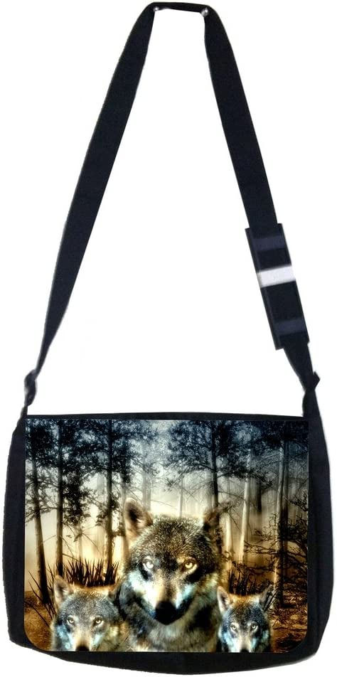 Wolves in the Rare Wild Lea Elliot TM School Bag online shopping and Messenger Pencil