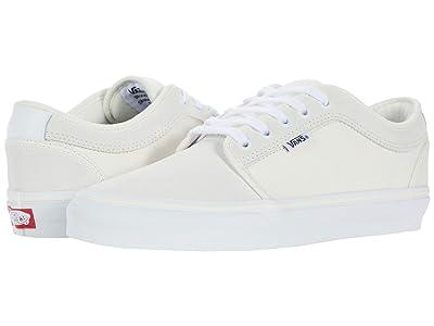 Vans Chukka Low (Marshmallow/White) Skate Shoes