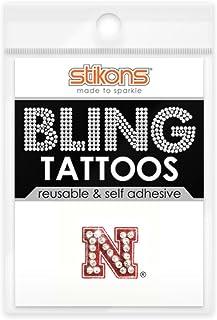 Spirit Gear Central Nebraska Cornhuskers Bling Tattoos