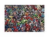 Jigsaw Puzzle The Avengers Superhero Puzzles 300/500/1000/1500 Pieces Adults Marvel Movie Wooden Jigsaw Puzzle Kids Decompression Gifts (Size : 1500 Pieces)