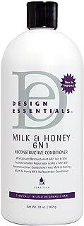 Design Essentials Milk & Honey 6N1 Reconstructive Conditioner, 32oz