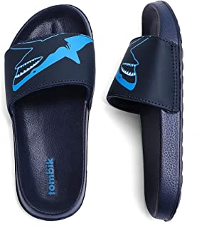 tombik Boys & Girls Beach/Pool Slides Sandals | Kids Water Shoes (Little Kid/Big Kid)