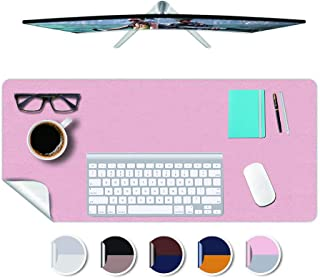 Desk Mat Plastic Office Home Table Pad Protector Blotter Mat Writing Desk Topper Protector with Mouse Pad for Laptop Compu...