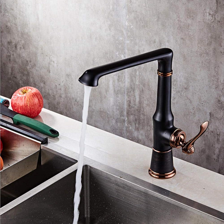 Badarmaturen Keramik Moderne Küche Becken Waschbecken Wasserhahn Hoher Auslauf Schwarz Deck Mixer Hei Kaltwasserhahn Kran