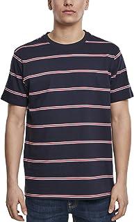 Urban Classics Men's Yarn Dyed Skate Stripe Tee T-Shirt