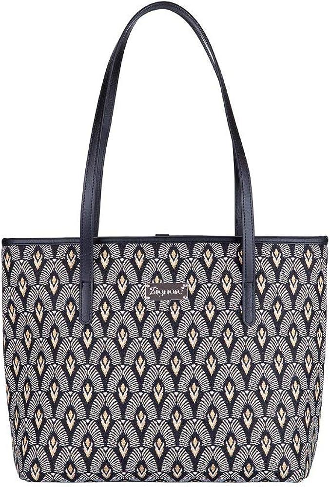 Signare Tapestry Shoulder Translated Bag Denver Mall Tote Art with Luxor Women for