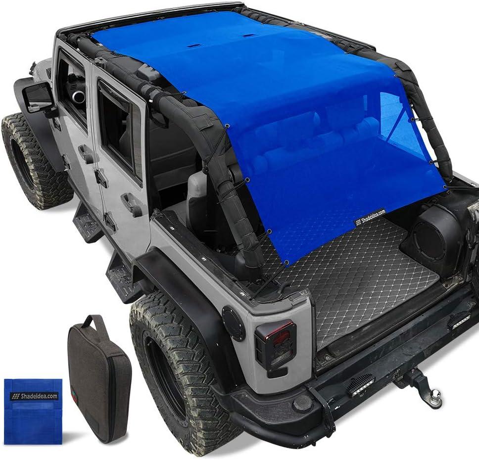 Shadeidea Sunshade for Jeep sale Wrangler JKU Sun Unlimited Shade JK Luxury goods