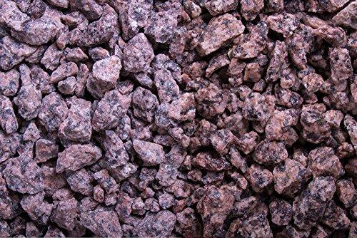 Kies Splitt Zierkies Edelsplitt Irisch. Granit 8-16mm Sack 20 kg