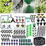 Jeteven Kit d'irrigation Goutte, 40M Kit Micro Irrigation Goutte à...