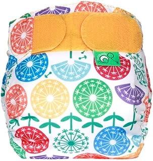 TotsBots Teenyfit Star Washable Reusable Cloth Diaper 5-12 lbs Newborn, Preemie or Twins (Dandy)