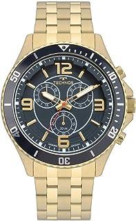 Relógio Technos Masculino Ref: Js00ao/4a Racer Dourado