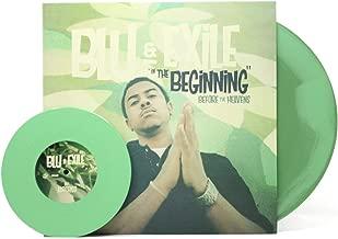 IN THE BEGINNING: BEFORE THE HEAVENS 2XLP GREEN SWIRL vinyl + 7