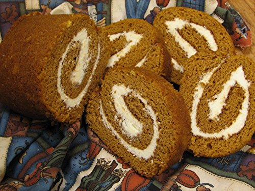 Pumpkin Roll - Loaf Size Roll - Homemade by the Amish