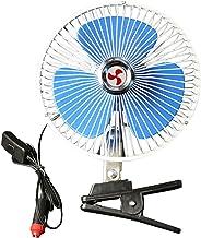 Ventilateur De 10 Pouces à Clip, à 180 ° Rotatif, 12v / 24v, Convient à Toutes Sortes De Voitures Et De Bateaux.-24v