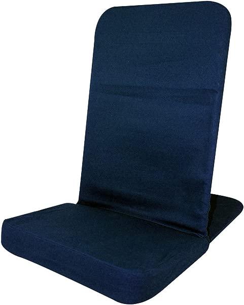 BackJack 地板椅子原装 BackJack 椅子标准尺寸海军蓝