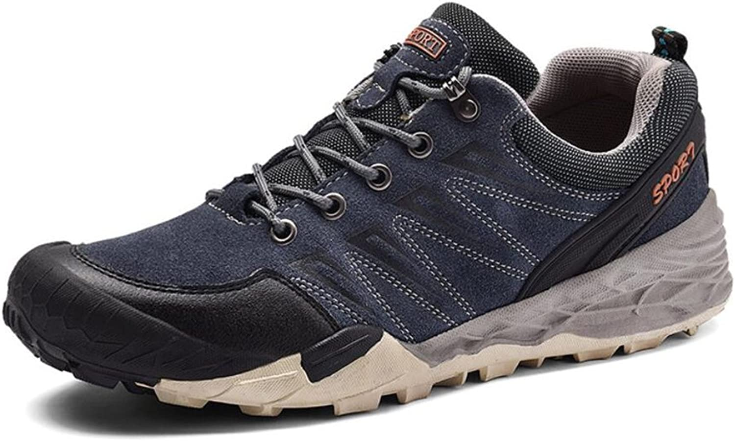 XUE Men's Athletic shoes,leather,spring Fall,Breathable Low-Top Sneakers,Non-slip Travel,Hiking shoes,Light Soles,Comfort Running shoes,Lightweight Walking shoes, Climbing shoes,Office
