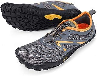 ALEADER Men's Minimalist Trail Running Shoes Barefoot   Wide Toe   Zero Drop