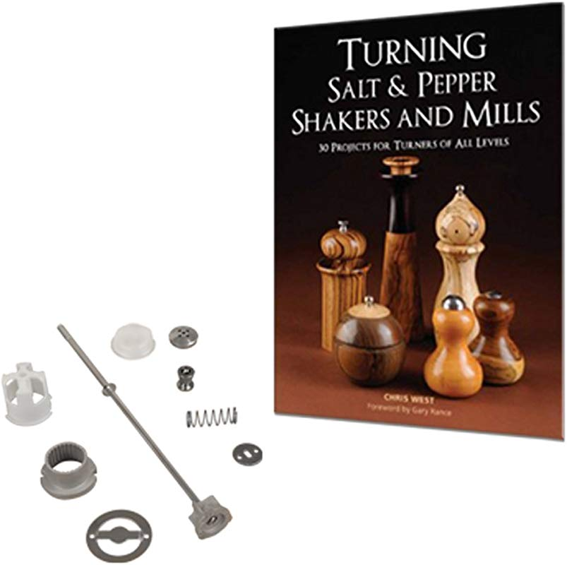 8 TURNING SALT AND Pepper Mill Package