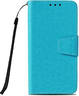 Flip Case for iPhone 8 Plus, Leather Cover Business Gifts Wallet with Extra Waterproof Underwater Case