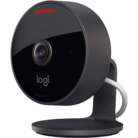 Logitech Circle View Wetterfeste Kabelgebundene Überwachungskamera Für Zu Hause 180 Weitwinkel 1080p Hd Nachtsicht 2 Wege Audio Verschlüsselung Und Apple Homekit Secure Video Schwarz Baumarkt